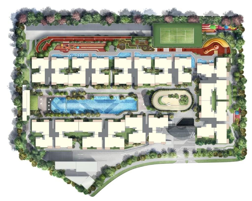 Westwood Residences site-plan westwood residences Westwood Residences EC |Showflat Hotline +65 97555202 Westwood residences site plan