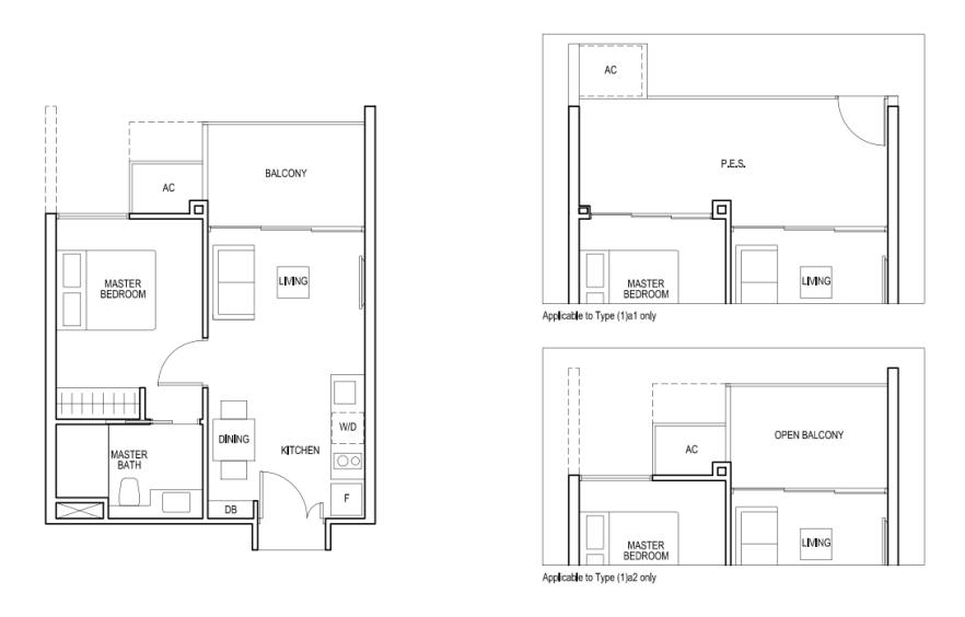 bartley-ridge-floor-plan bartley ridge Bartley Ridge | Showflat Hotline +65 97555202 bartley ridge floor plan 1 bedroom