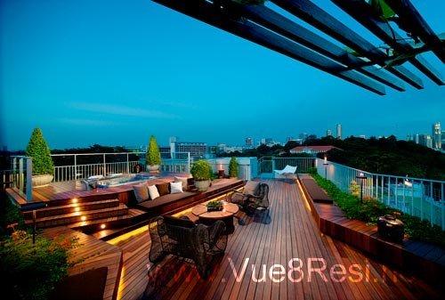 Roof Terace vue 8 Vue 8 @ Pasir Ris | Showflat Hotline +65 6100 7122 belle vue residences 14