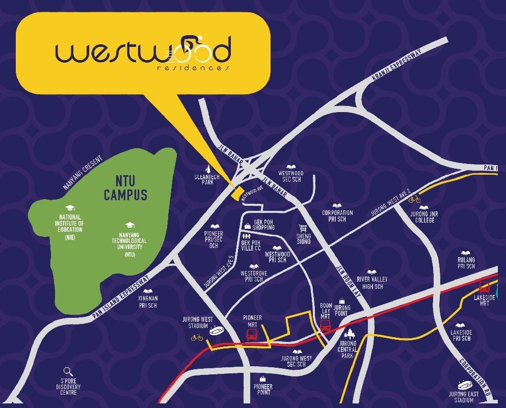 Westwood Residences Location Map westwood residences Westwood Residences EC |Showflat Hotline +65 97555202 bgg