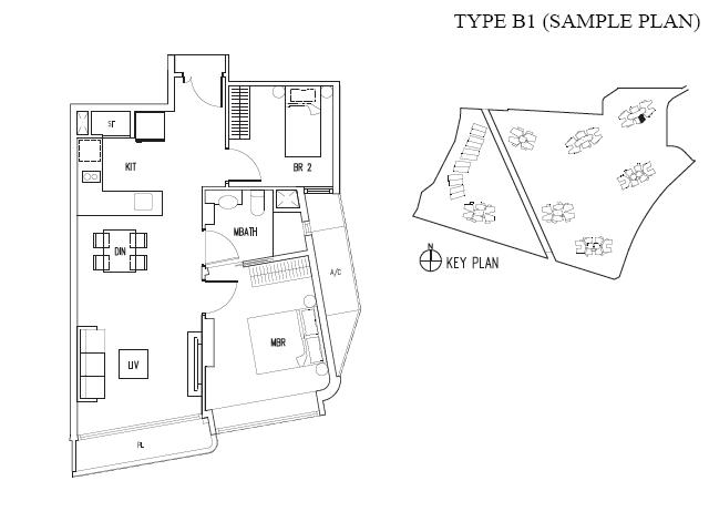 D Leedon-Floor-Plan d leedon D Leedon | Singapore dleedon typeB