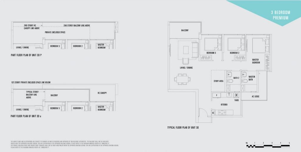Lake Life Floor plan lake life Lake Life EC |Showflat Hotline +65 97555202 lake life ec 3 bedroom premium 3d