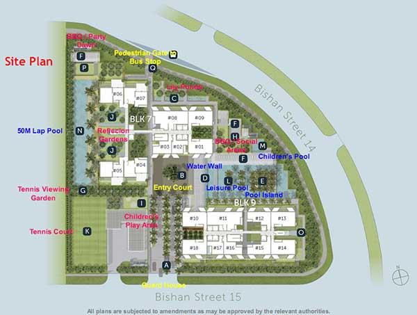 habitat siteplan  sky habitat Sky Habitat | Singapore sky habitat siteplan 1