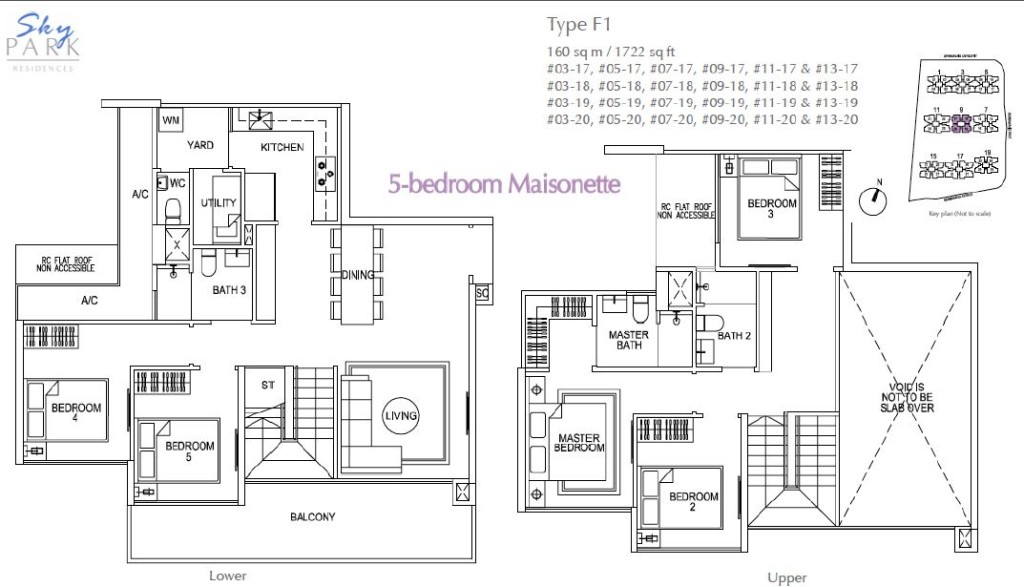 Skypark-Residences floorplan skypark residences Skypark Residences EC | Showflat Hotline +6597555202 skypark residences floorplan f1 5bedroom maisonette