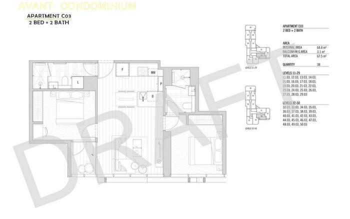 Avant Floor Plan avant melbourne Avant Melbourne | Showflat Hotline 6100 7122 avant condo 2 bed 2 bath c031