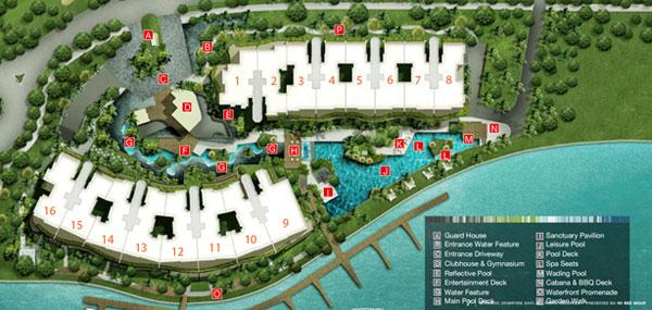 site plan turquoise Turquoise   Showflat Hotline 61007122 turquoisesiteplan