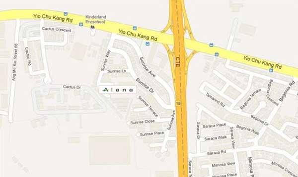 Alana Location-Map