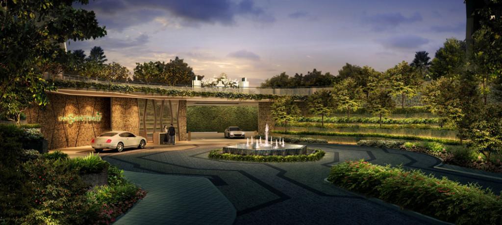 Entrance eco sanctuary Eco Sanctuary | Showflat Hotline +65 61007122 |Bukit Panjang Primary Entrance1