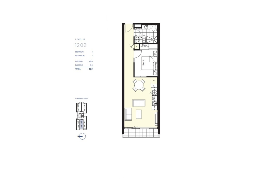Floor Plan prime tower Prime Tower South Yarra | Showflat Hotline +6597555202| Melbourne Floor Plan1