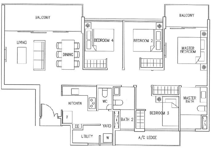 Marco Melbourne Southbank Floor plan marco melbourne Marco Melbourne Southbank  Showflat Hotline +6597555202 Floor plan