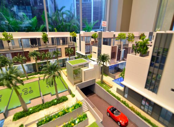 Garden alana Alana @ Sunrise Terrace | Showflat Hotline +65 61007122 Garden