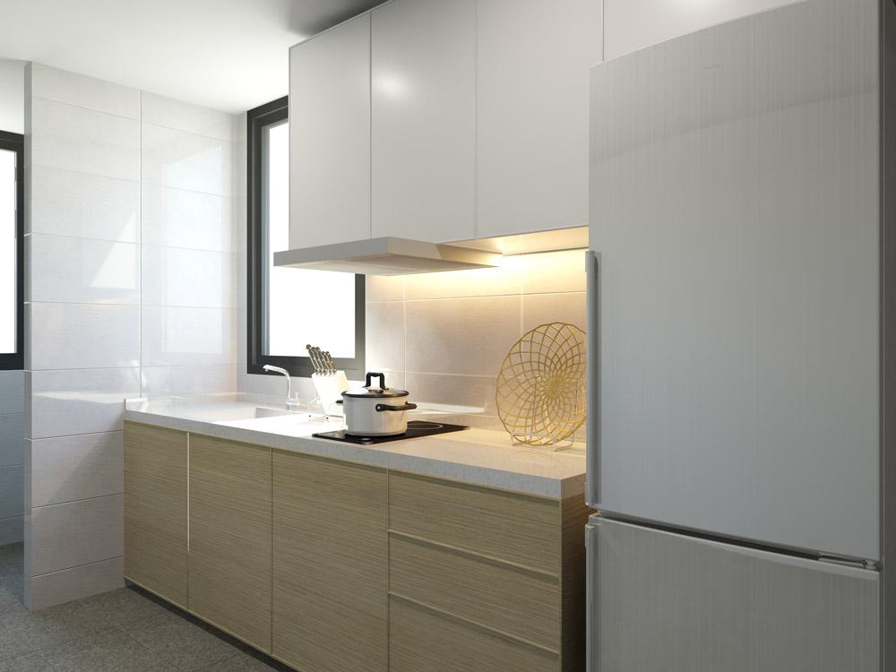 Kitchen la vie residences La Vie Residences Cambodia |  +65 61007122 Showflat Hotline Kitchen2