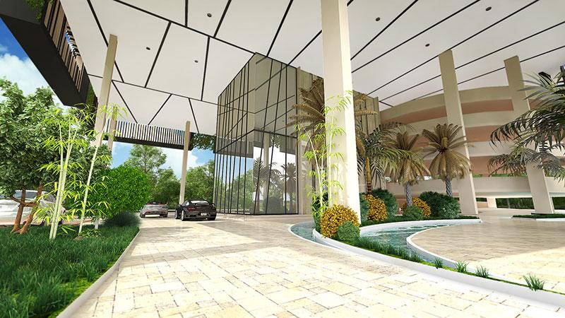 entrance la vie residences La Vie Residences Cambodia |  +65 61007122 Showflat Hotline la vie residences entrance