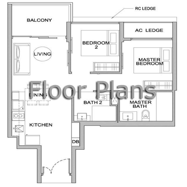Principle Garden Floor Plan principal garden Principal Garden | Showflat Hotline +65 61007122 | UOL Developer Sales Floor Plan1