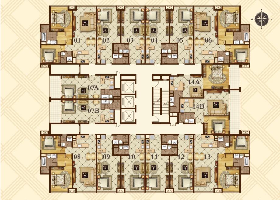 East One Floor Plan