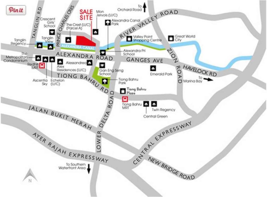 Principle Garden Location Map principal garden Principal Garden | Showflat Hotline +65 61007122 | UOL Developer Sales Location Map1