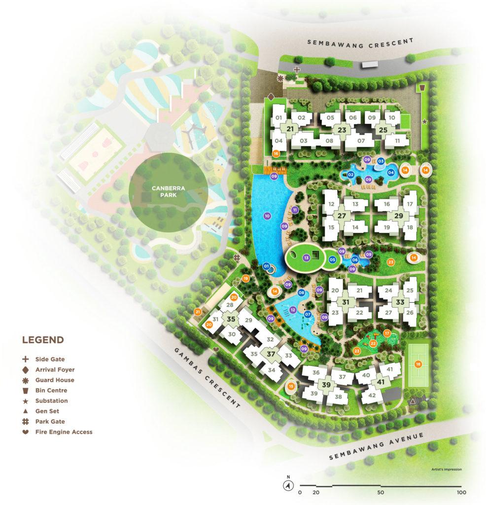 parc life Parc Life EC | Showflat Hotline +65 6100 7122 | Sembawang EC Parc Life EC site plan