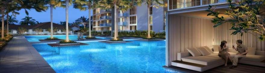 Swimming Pool wandervale Wandervale EC | Showflat Hotline +65 6100 7122 | EC Near Lot One Swimming Pool