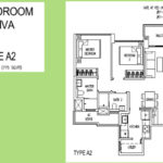 floor plan 2-Bedroom