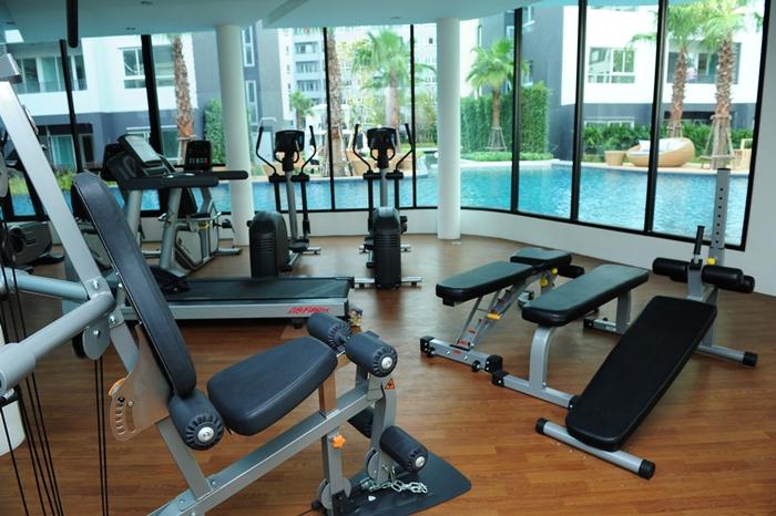 Elio Del-Ray Fittnes Facility elio del ray Elio Del Ray | Showflat Hotline +65 97555202 | Bangkok Property Elio Del Ray Fittnes Facility