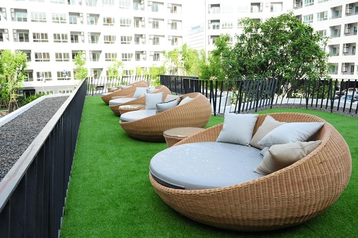 Elio Del-Ray Lawn Sitting elio del ray Elio Del Ray | Showflat Hotline +65 97555202 | Bangkok Property Elio Del Ray Lawn Sitting