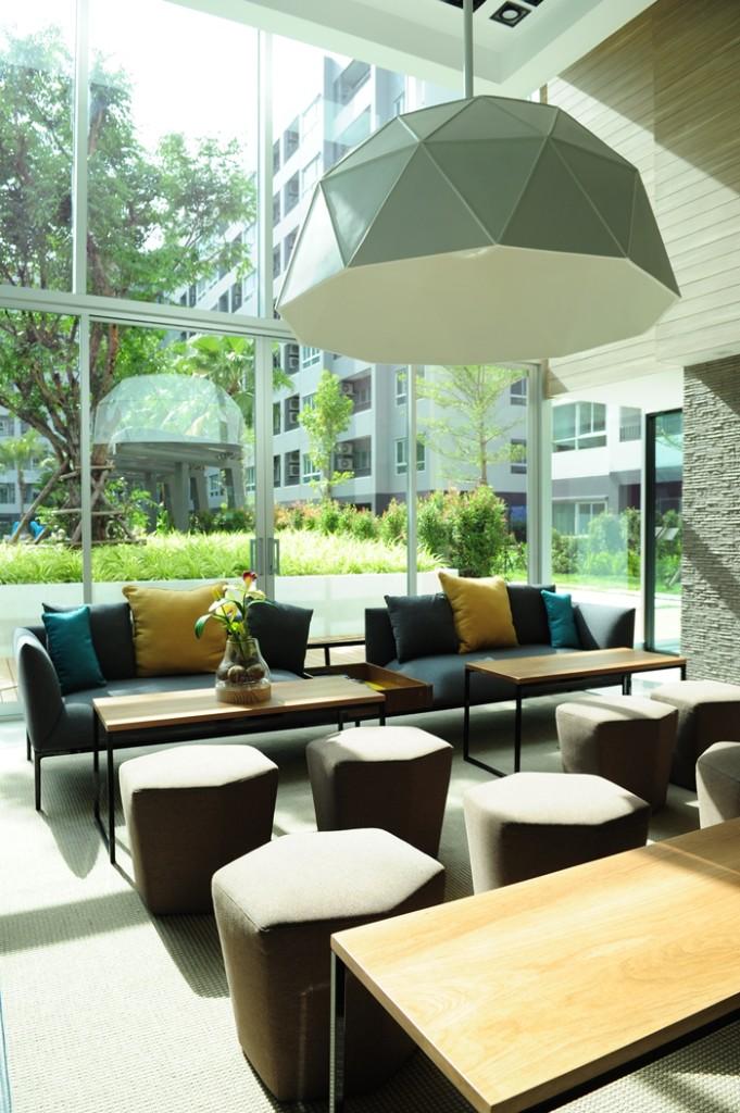 Elio Del-Ray Living Area elio del ray Elio Del Ray | Showflat Hotline +65 97555202 | Bangkok Property Elio Del Ray Living Area