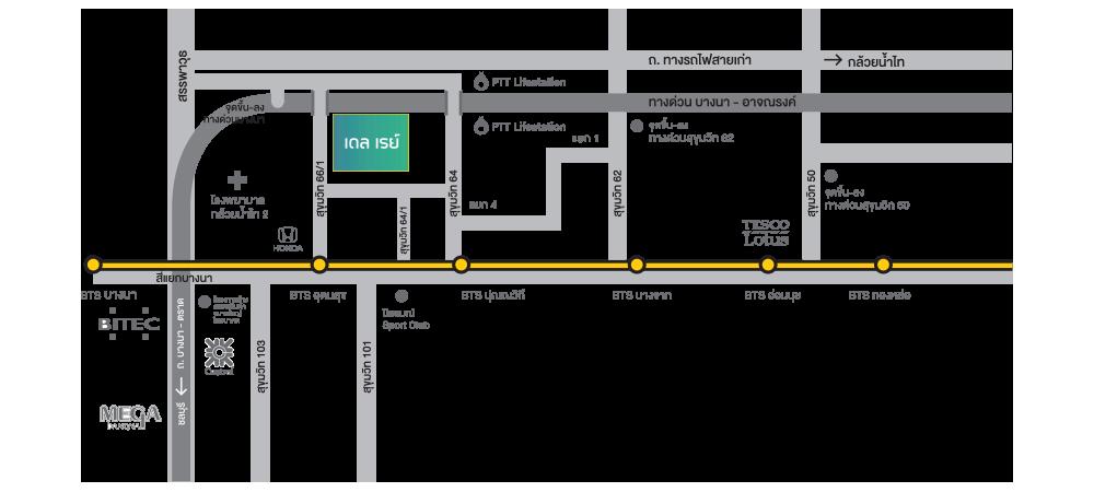 Elio Del-Ray Location Map elio del ray Elio Del Ray | Showflat Hotline +65 97555202 | Bangkok Property Elio Del Ray Location Map