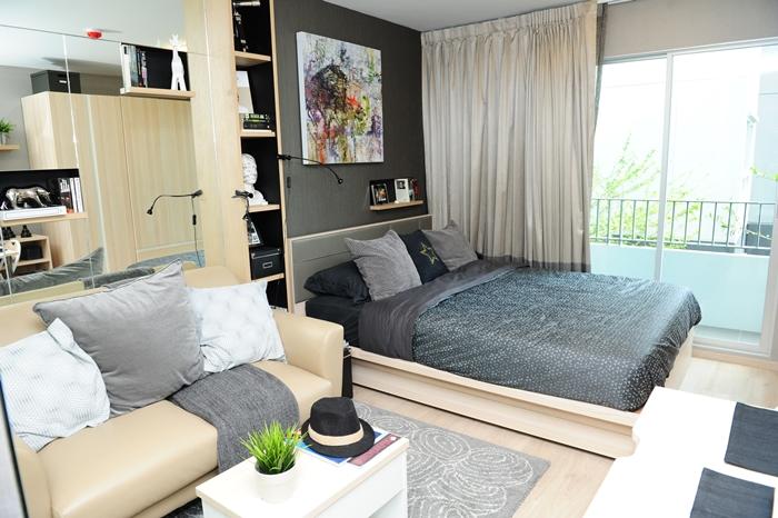Elio Del-Ray Luxury Bedroom elio del ray Elio Del Ray | Showflat Hotline +65 97555202 | Bangkok Property Elio Del Ray Luxury Bedroom