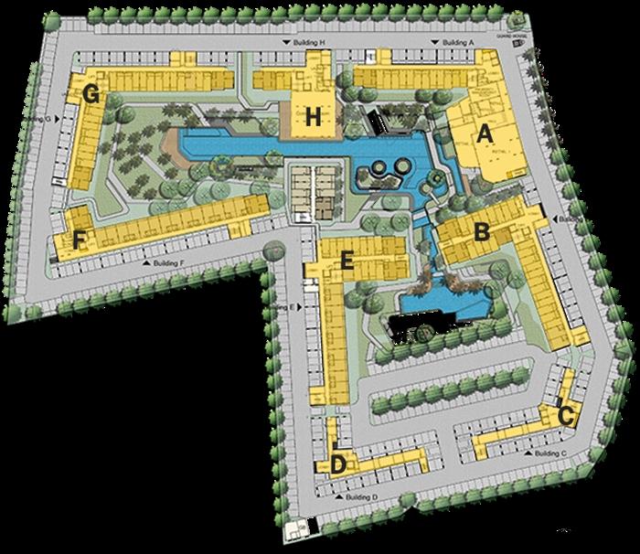 Elio Del-Ray Site Plan elio del ray Elio Del Ray | Showflat Hotline +65 97555202 | Bangkok Property Elio Del Ray Site Plan