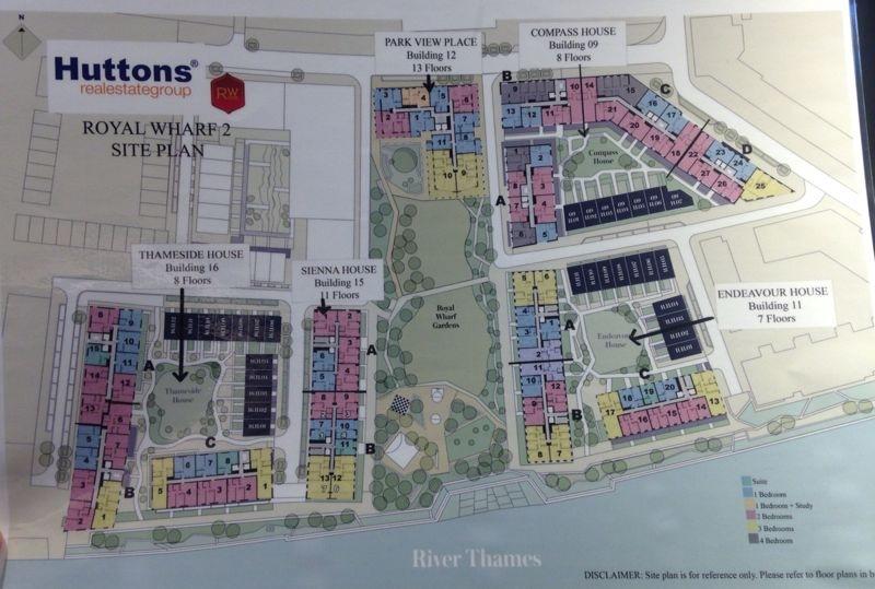Royal Wharf Phase 2 Site Plan