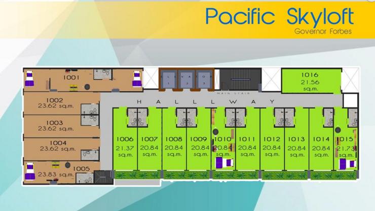 Pacific Skyloft Floor Plan 1 pacific skyloft manila Pacific Skyloft Manila | Showflat Hotline +65 6100 7122 Pacific Skyloft Floor Plan 1