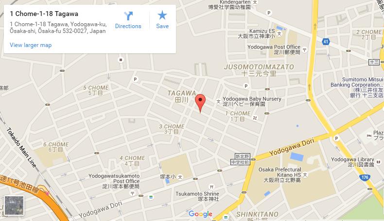 The Residence Higashi Mikuni google map the residence higashi mikuni The Residence Higashi Mikuni | Showflat Hotline +65 6100 7122 The Residence Higashi Mikuni google map