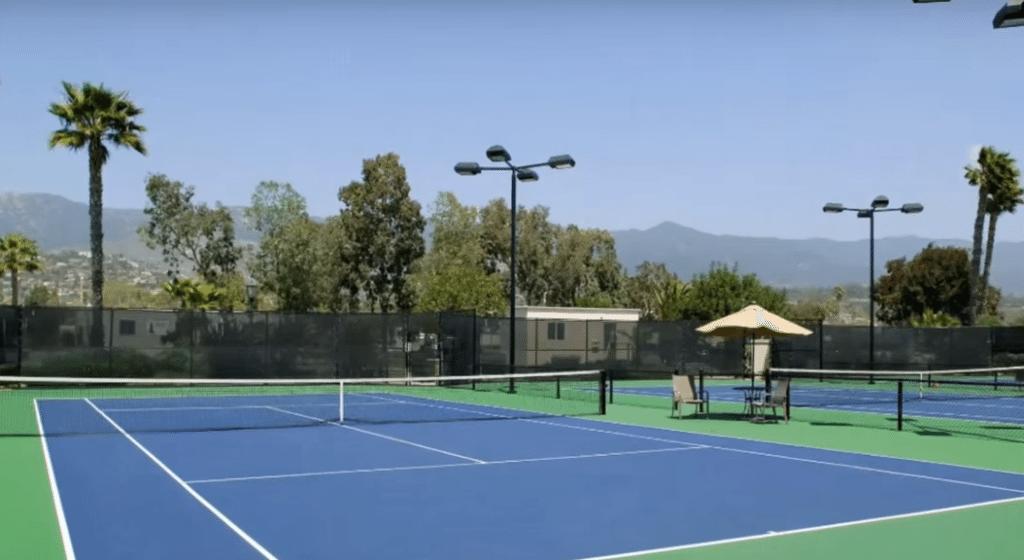 East Commercial Tennis Court