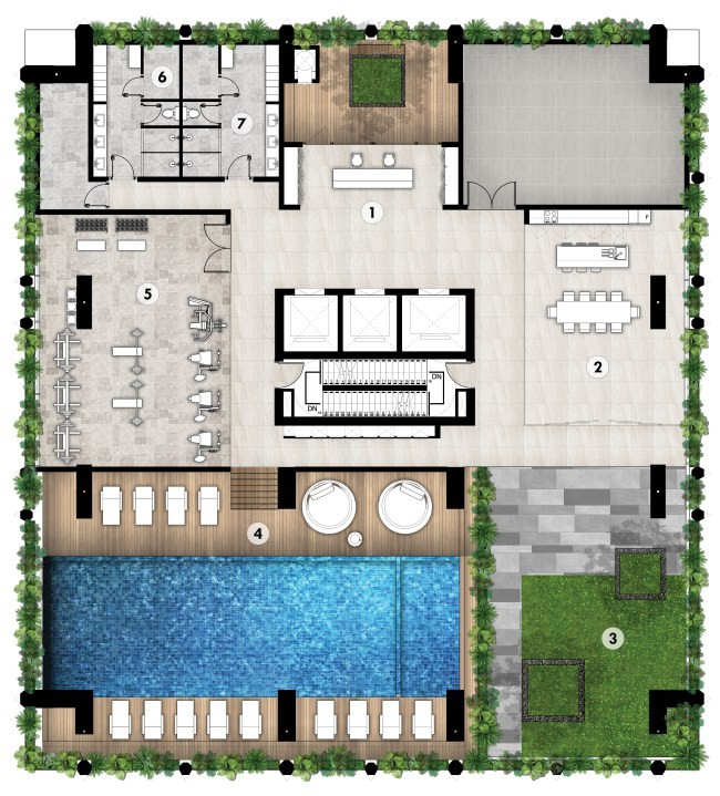 Embassy Central Cambodia Site Plan