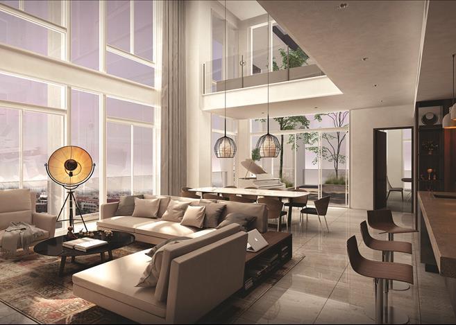 Embassy Central Living Room