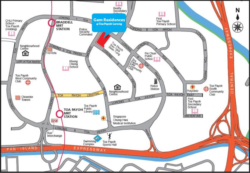 Gem Residences Location Map gem residences Gem Residences | Showflat Hotline +65 6100 7122 | Toa Payoh Gem Residences Location Map