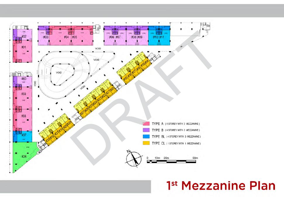 T Space Tampines 1st Level Floor Plan