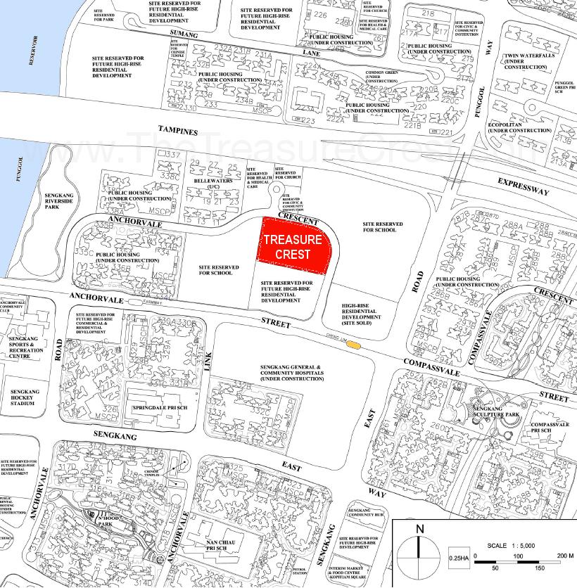 Treasure Crest Location Map treasure crest ec Treasure Crest EC | Showflat Hotline +65 6100 7122 |Sim Lian Treasure Crest Location Map