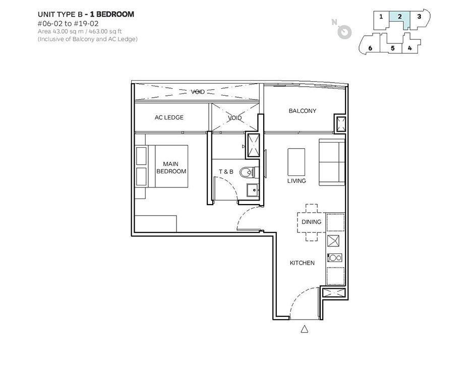 Robin-Suites-Floor Plan (1) robin suites Robin Suites | Showflat Hotline +65 61007122 Robin Suites Floor Plan 1