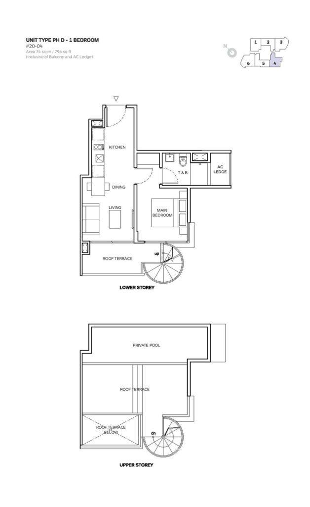 Robin-Suites-Floor Plan (8) robin suites Robin Suites | Showflat Hotline +65 61007122 Robin Suites Floor Plan 8