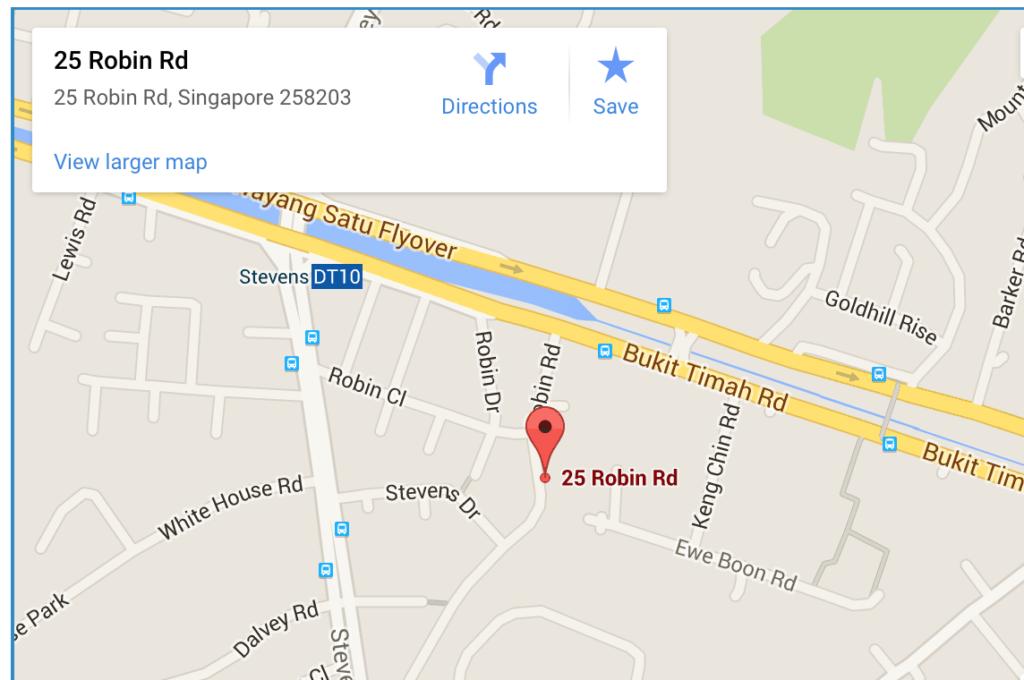 Robin-suites-google-map robin suites Robin Suites | Showflat Hotline +65 61007122 Robin suites google map