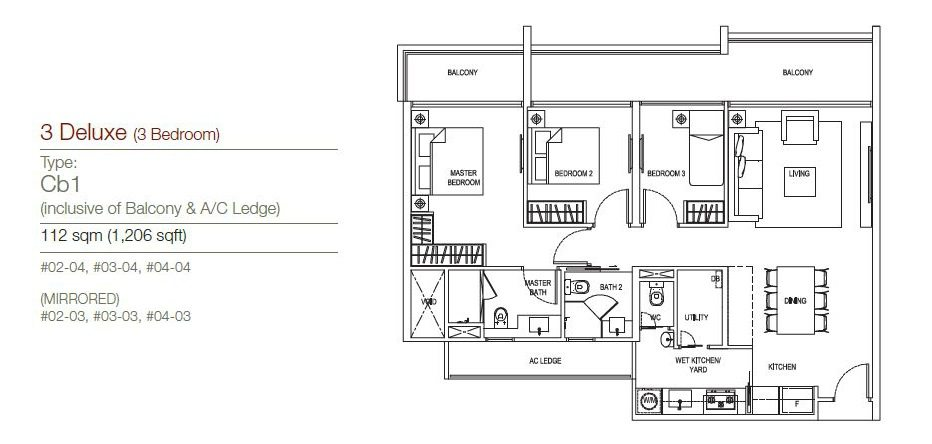 The Maison Floor Plan (2) the maisons The Maisons | Showflat Hotline +65 61007122 The Maison Floor Plan 2