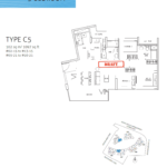 northwave executive condo 3 bedrooms premium floor plan
