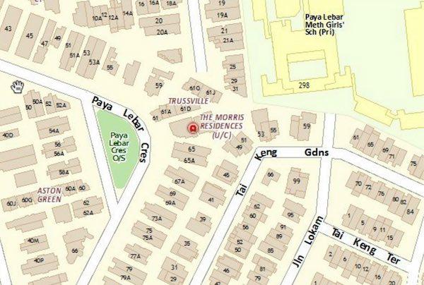 Morris-Residences-Location-Map the morris residences The Morris Residences | Showflat Hotline +65 6100 7122 Morris Residences Location Map