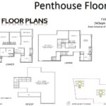 Hillion residences penthous floor plan