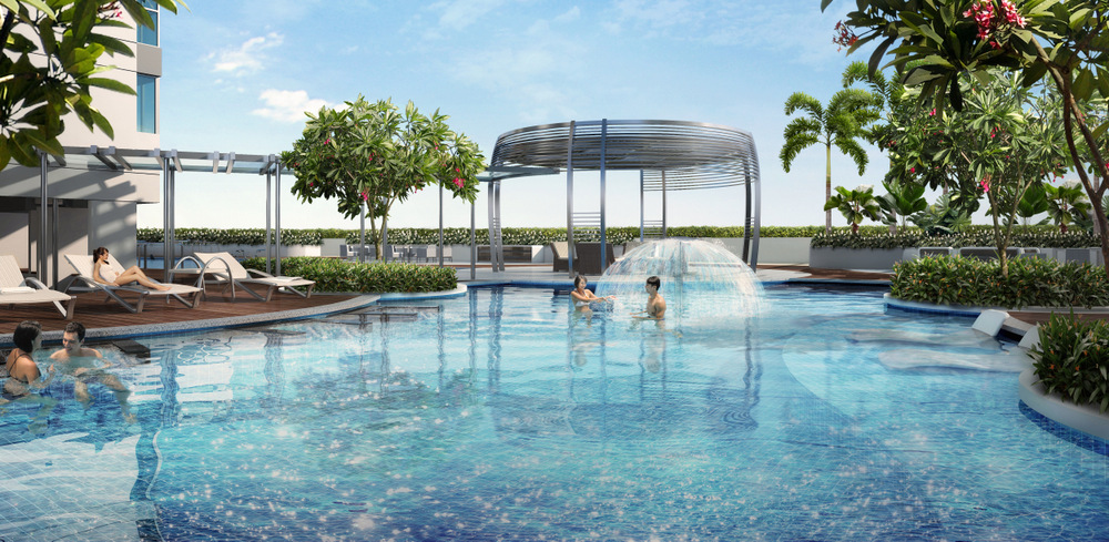 Hillion residences pool hillion residences Hillion Residences | Showflat Hotline +65 6100 7122 | by Sim Lian Hillion residences pool