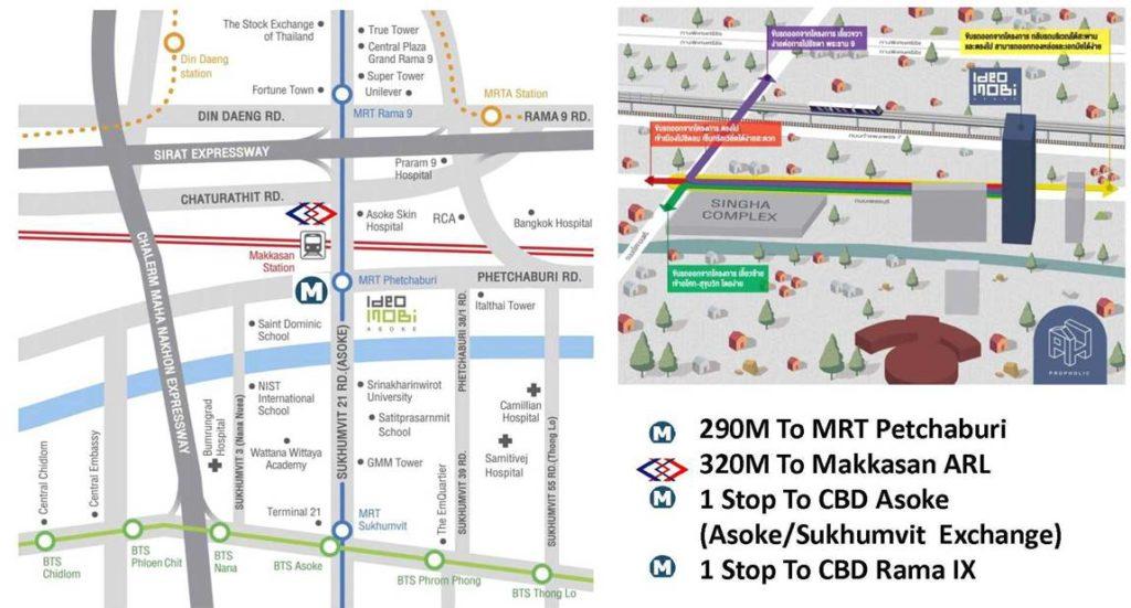 Ideo Mobi Asoke location map ideo mobi asoke 10 Reasons to Buy Ideo Mobi Asoke | Showflat Hotline +65 97555202 Ideo Mobi Asoke location map