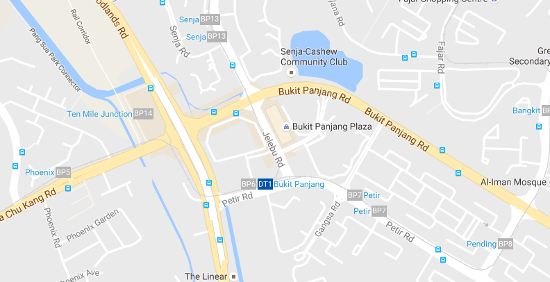 google map hillion residences Hillion Residences | Showflat Hotline +65 6100 7122 | by Sim Lian google map
