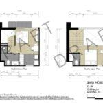 ideo mobi asoke floorplan duplex