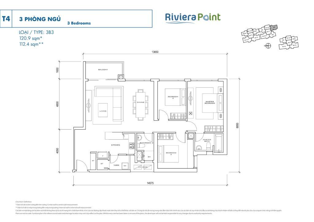 Riviera Point Vietnam floor plan
